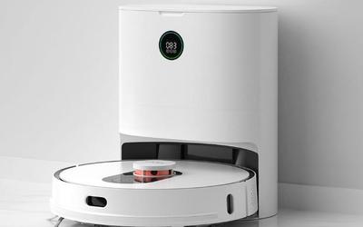 睿米扫地机器人EVE PLUS上线 能自动清理会打包垃圾
