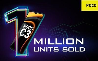 小米捷报频频!POCO C3在印度销量破百万 约售665起