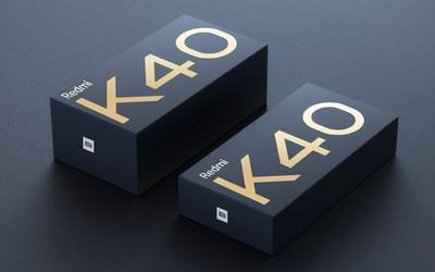 "Redmi K40包装盒""剧透""!一大一小或对应不同版本"
