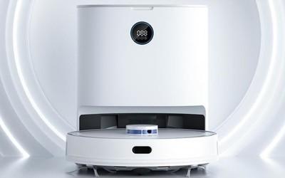 清易集尘扫拖机器人华为商城开启众测 可以自动集尘