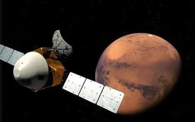 天问一号探测器现已进入火星轨道 即将着陆展开探测