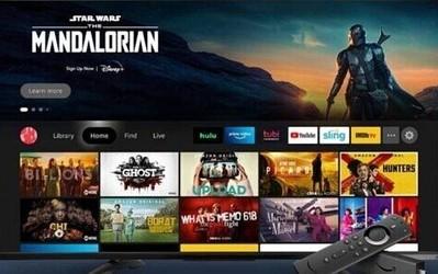 外媒:亚马逊将于下个月推出新的Fire TV用户界面