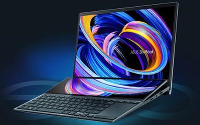华硕灵耀X双屏笔记本正式开售 续航长达17小时仅7999