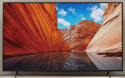 索尼4K电视新品X80J系列开售 支持AI智能远场语音