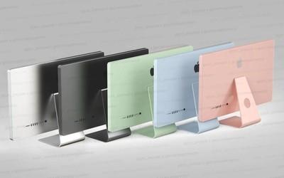 新iMac或将在今年发布 采用全新设计拥有多达五种配色