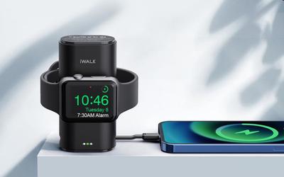 果粉必入!iWALK口袋宝Watch可为苹果手表手机充电