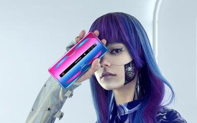 腾讯红魔游戏手机6真机公布 粉粉蓝蓝还有165Hz高刷屏