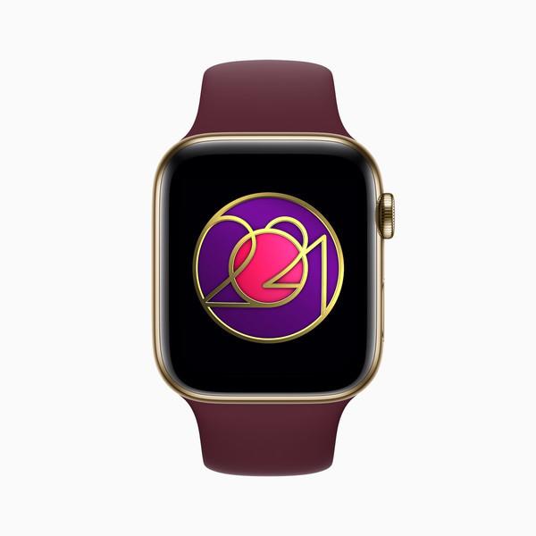 "Apple Watch""国际妇女节""健康挑战奖章(2021年度)"
