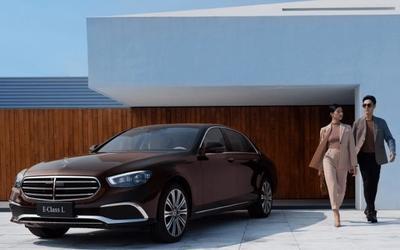奔驰E级新款上市!全系2.0T发动机 售价43.99万元起