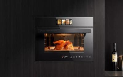云米蒸烤一体机上架小米有品 功能八合一售4599元