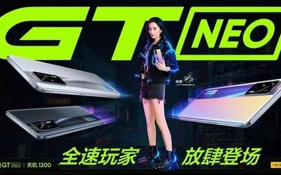 realme真我GT Neo正式开售 搭载天玑1200售1799元起