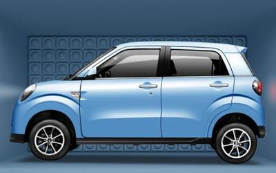2021款凌宝BOX电动汽车上市 续航140公里仅3.28万元
