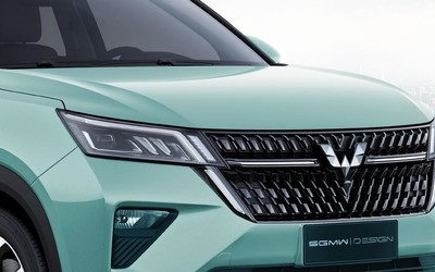 五菱首款银标SUV即将亮相上海车展 官图提前发布