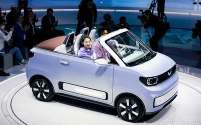 五菱宏光MINI EV上市270天销量超27万 敞篷版要来了!