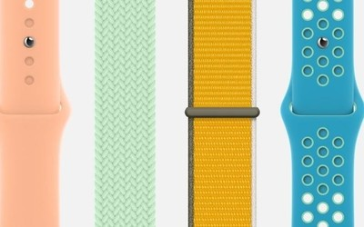 苹果Apple Watch表带更新:闪亮春天的配色379元起
