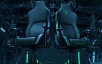 雷蛇风神电竞椅新品上架!人体工程学腰垫舒适贴合