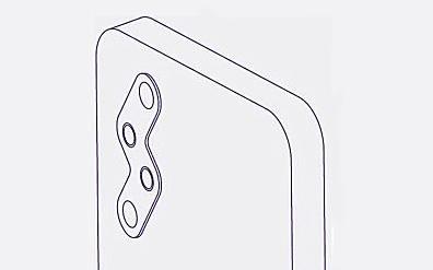 小米獲新型手機外觀專利授權 背部鏡頭呈閃電式形狀