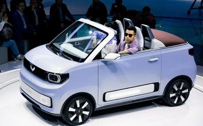 售价2万欧元起!五菱宏光MINI EV敞篷版将出口欧洲