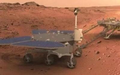"""中国首辆火星车命名为""""祝融号"""" 寓意点燃探测的火种"""