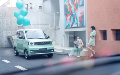 五菱汽车GSEV累计销量破40万辆 宏光MINIEV表现优异