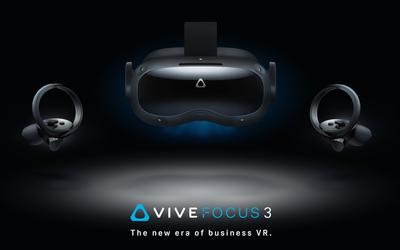 HTC VIVE发布两款VR头显:支持5K 流畅体验120Hz