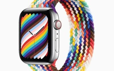 Apple Watch新版彩虹表带上线 搭配全新表盘379元起
