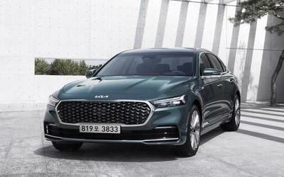 中期改款起亚K9官图发布 外观提升 定位大型旗舰轿车