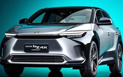 丰田纯电SUV bZ4X官图发布 最大续航里程或600公里