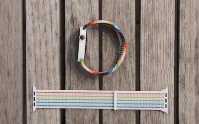 Apple Watch彩虹表带上手:艺术与美感的最佳融合
