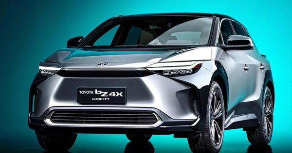 丰田纯电SUV bZ4X