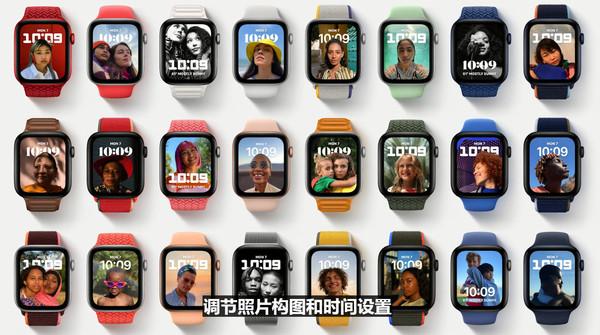 苹果watchOS 8新增表盘
