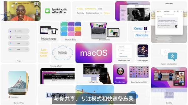 macOS Monterey发布