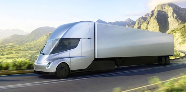Tesla Semi电动卡车