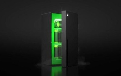 微软造冰箱!微软Xbox冰箱即将发售 和XSX长一样