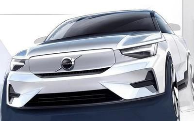 沃尔沃全新纯电动SUV渲染图曝光 或将于2023年推出