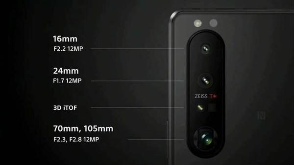 索尼Xperia 1 III可变长焦镜头(图源来自网络)