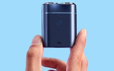 焕醒智能便携电动剃须刀开启众测 双环浮动刀头可水洗
