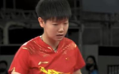 登顶微博热搜!孙颖莎战胜伊藤美诚 进入奥运女乒决赛
