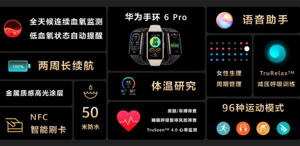 华为手环 6 Pro