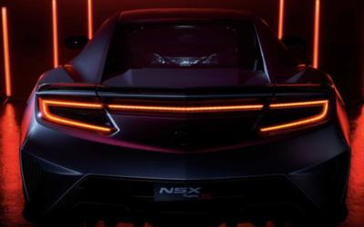 讴歌新款NSX预告图曝光 或于8月13日正式首发亮相
