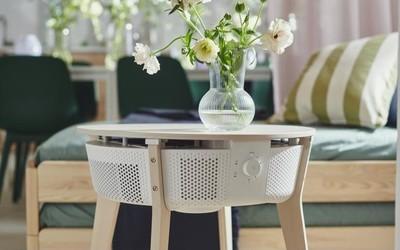 宜家发布了一款新桌子 不对,应该是空气净化器桌子