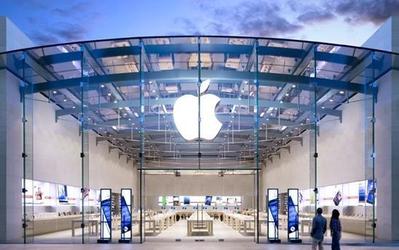 苹果公司股价创历史新高 总市值现已接近2.5万亿美元