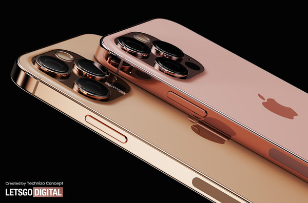 iPhone 13系列新渲染图曝光 网友大赞:这外观我可以!