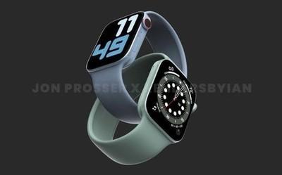 Apple Watch Series 7将如期发布 方正机身屏幕更大