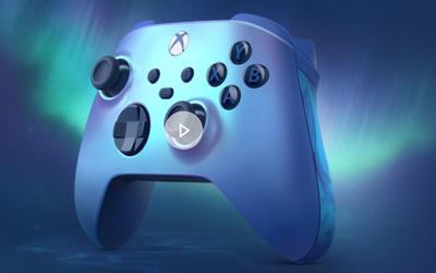 全新配色 Xbox无线控制器极光蓝特别款上市 售价499元
