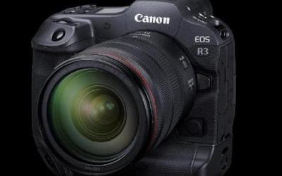 佳能发布旗舰相机EOS R3!11月下旬上市 售36999元