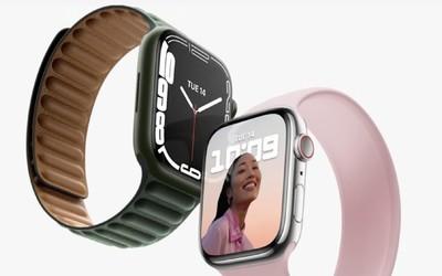 Apple Watch 7正式发布!还是弧形设计 屏幕大20%