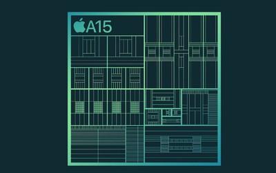 iPhone 13携A15芯片而来!5nm工艺打造 性能提升50%