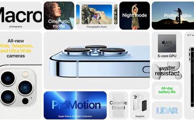 iPhone 13 Pro或配置6GB运行内存!安兔兔跑分83万