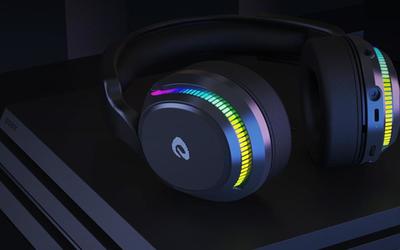 499!达尔优A710游戏耳机推出 支持5.8GHz无线连接